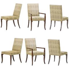 Six T. H. Robsjohn-Gibbings Dining Chairs