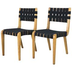 Early Pair of Side Chairs by Abel Sorenson for Knoll