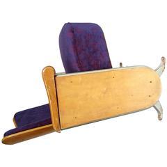 Vintage 1940s Cinema Chair