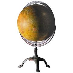 1930s Weber Costello Globe with Cast Copper Mount