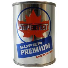 Ten Supertest Gas Station Motor Oil Coin Banks