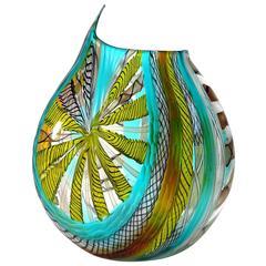 Gianluca Vidal Murano Artistic Vase