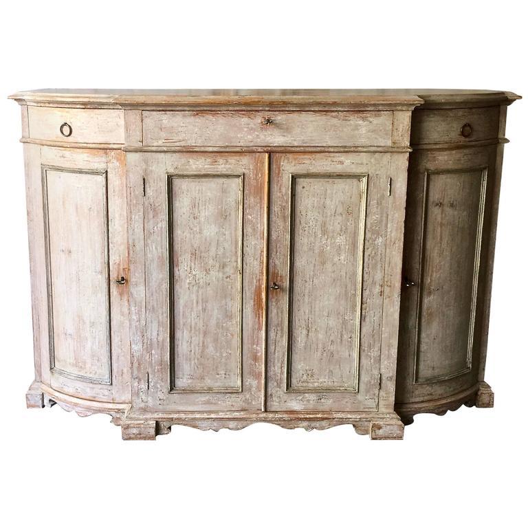 19th Century Swedish Gustavian Sideboard 1