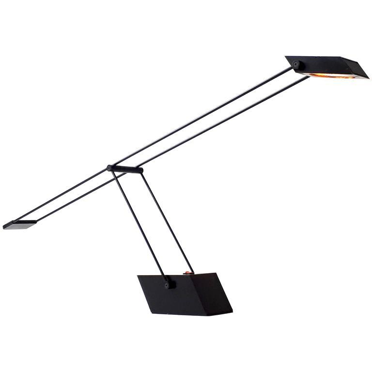 Italian Halogen Table Lamp , 1970s