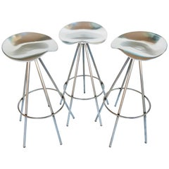 Set of Three Pepe Cortes Jamaica Stools by Amat for Knoll