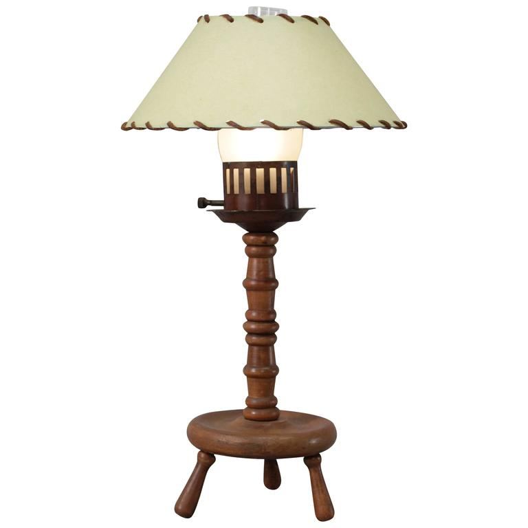 1930s monterey period wood table lamp for sale at 1stdibs 1930s monterey period wood table lamp for sale aloadofball Images