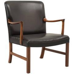 Ole Wanscher Rosewood Armchair for A. J. Iversen, Denmark, 1960s