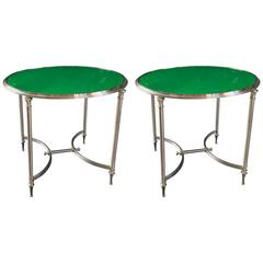 Pair of Neoclassical Side Tables