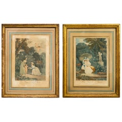 Pair of 19th Century French Prints