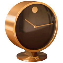 Howard Miller Brass Museum Clock