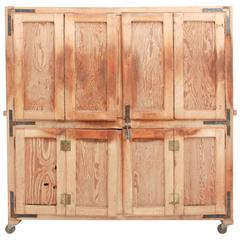 Early 20th Century Antique Bread Rising Cupboard