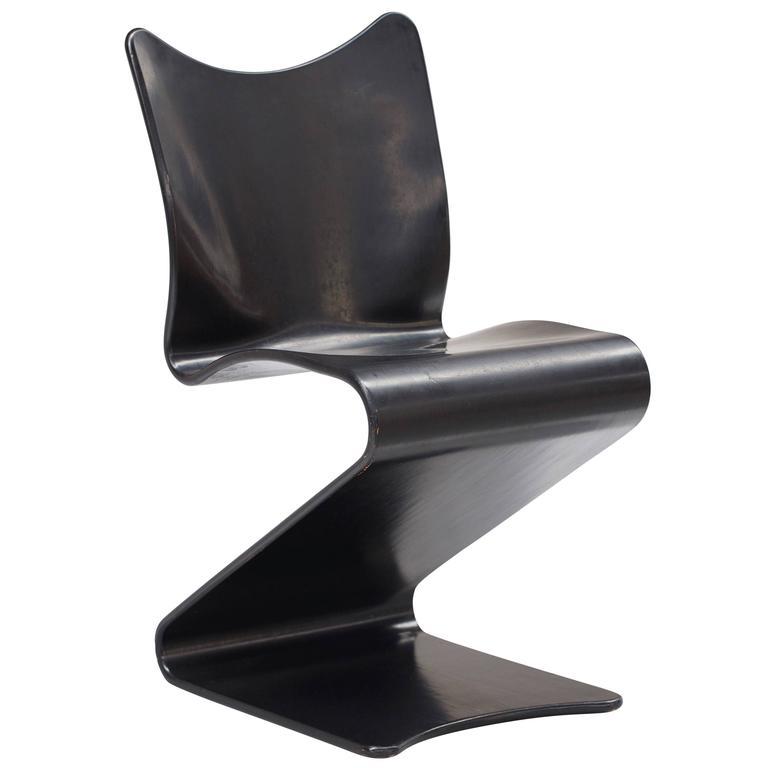 s 275 chair by verner panton at 1stdibs. Black Bedroom Furniture Sets. Home Design Ideas
