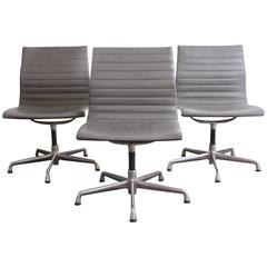 Herman Miller Aluminum Group Chairs by Charles and Ray Eames