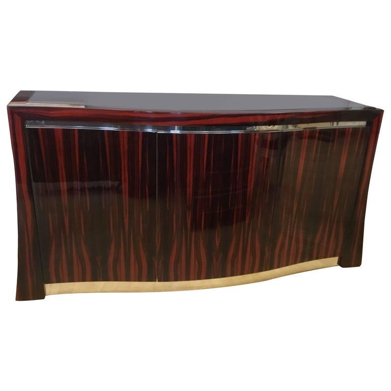 Ted Sherman Maccasar Wood Sideboard 1