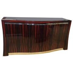 Ted Sherman Maccasar Wood Sideboard