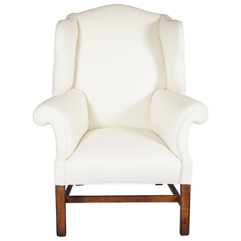19th Century Bold Wingback Chair