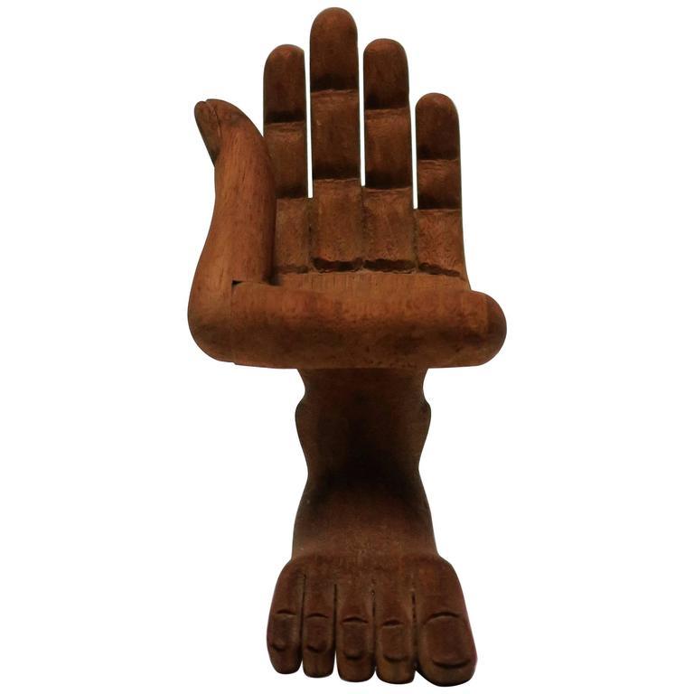 Pedro Friedeberg Hand Chair Decorative Object Sculpture