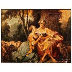 19th Century Baroque Style Painting Josef Mariano Kitschker