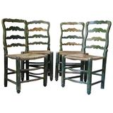 French 18th Century Country Style Chairs