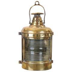 Brass Masthead Light by Lovell