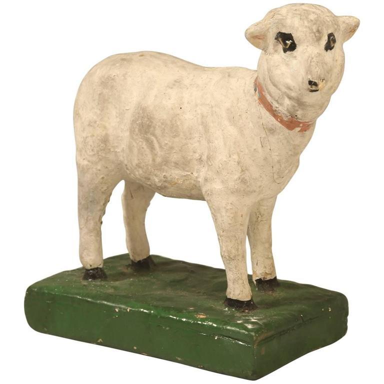 American Sheep Chalkware