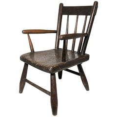 Early 19th Century Child's Windsor Chair