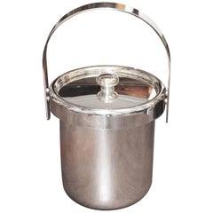 1960s Silverplate Italian Ice Bucket by Argente