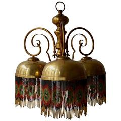 Italian Copper Chandelier