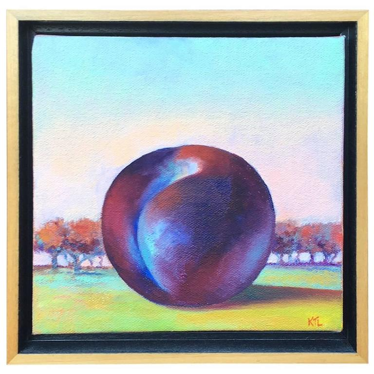 Nantucket Still Life with a Plum, by Katie Trinkle Legge, 2002 1