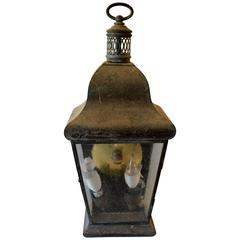 Zinc Carriage Lantern
