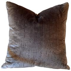 Dusted Amethyst Silk Velvet Pillow