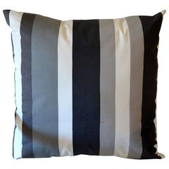 Modern Awning Stripe Pillow