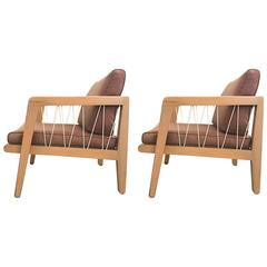 Pair of Edward Wormley Club Chairs