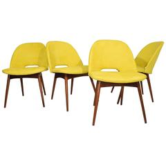 Set of Four Adrian Pearsall Dining Chairs
