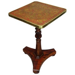 Regency Rosewood and Penwork Occasional Table