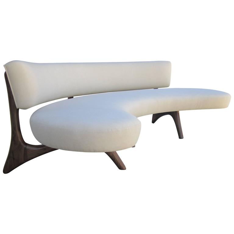 Curved Floating Sofa