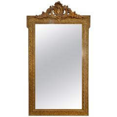 Antique Italian Louis XVI Gold Mirror, 1860