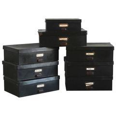 Black Boudoir Boxes