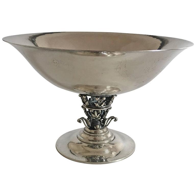 georg jensen sterling silver footed bowl 172 for sale at. Black Bedroom Furniture Sets. Home Design Ideas