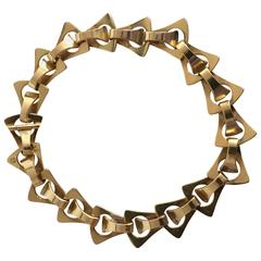 Georg Jensen 18-Karat Gold Bracelet #1147