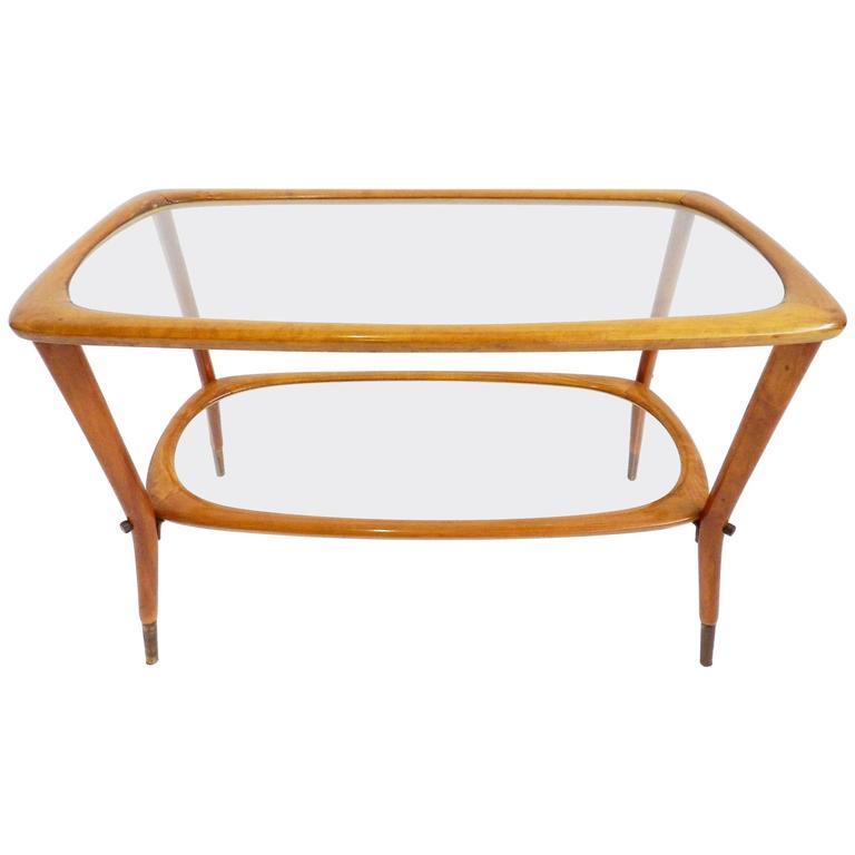 Elegant Side Table Carlo de Carli Style For Sale