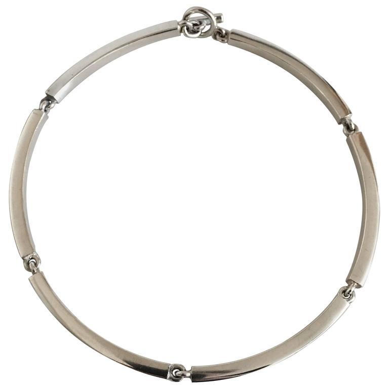 Hans Hansen Sterling Silver Necklace #185