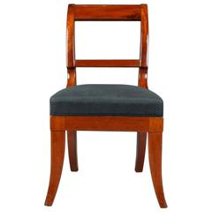 19th Century Biedermeier Style Mahogany Chair