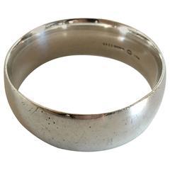Georg Jensen Sterling Silver Bangle Bracelet #1145