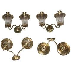 Sconces Mid-Century Italian Design Lanterns