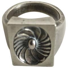 Georg Jensen Sterling Silver Ring #82B