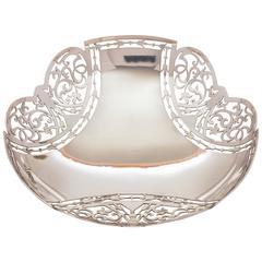 20th Century George V Silver Dish