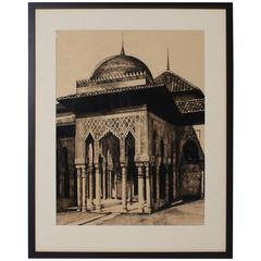 Reverse Drawing of Moorish Architecture by Cathy Wiggs