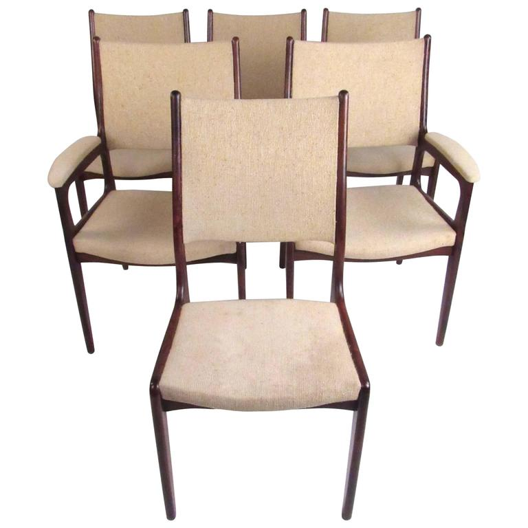 Scandinavian Modern Rosewood Dining Chairs For Sale At 1stdibs