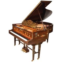 "Art Case Steinway Hamburg Model ""A"" Grand Piano Hand Painted Masterpiece"